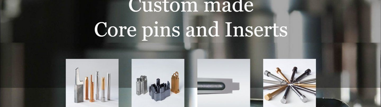 Custom Made Core Pins & Inserts